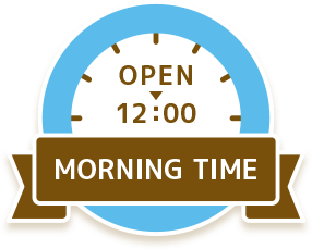 MORNING TIME OPEN - 12:00